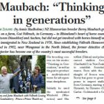 "Maubach: ""Thinking in generations"""